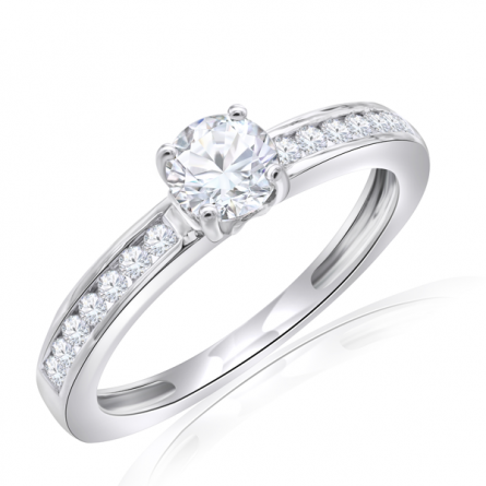 Semimount Solitaire Ring