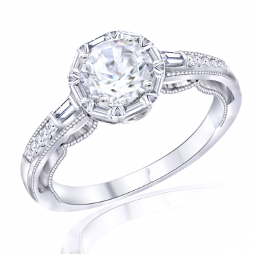 Semimount Bridal Ring